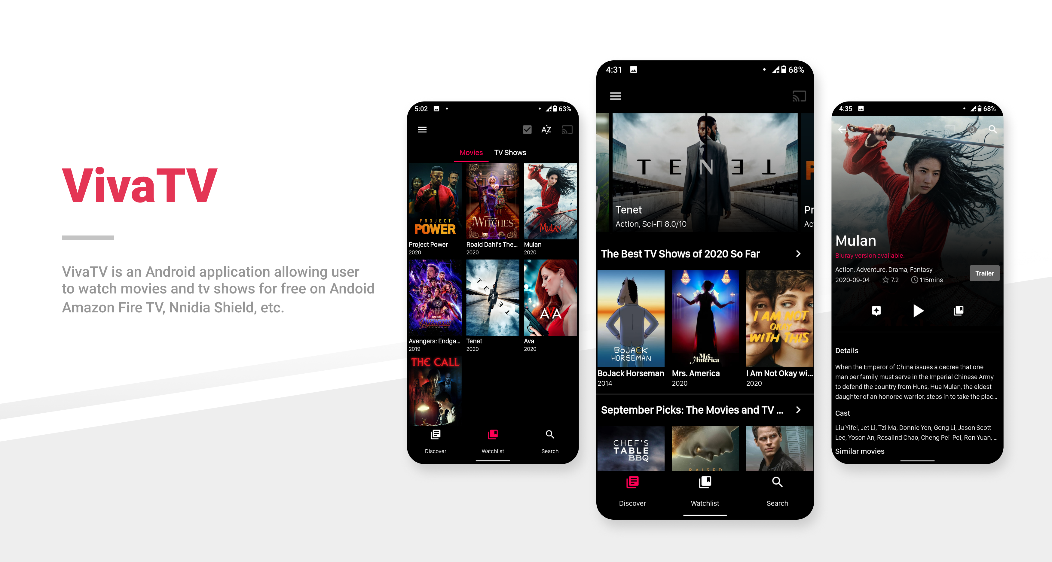 Viva TV Apk - Best free app to watch movies on Android (1)